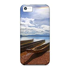 TYHde New Diy Design Nature Beach Canoeing On The River For ipod Touch4 Cases Comfortable For Lovers And Friends For Christmas Gifts ending