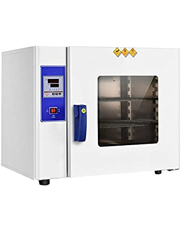 Zinnor Stainless Steel Digital Drying Oven Lab Drying Oven Cabinet Electric Heating Blast Oven Drier,