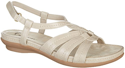 Wear.Ever. ANDREA Women's Sandals Stone Size 8 M (WR11698)