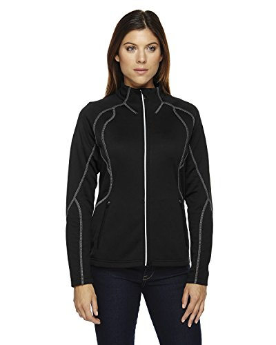 Gravity Womens Jacket (North End Ladies Gravity Performance Fleece Jacket, Large, BLACK)
