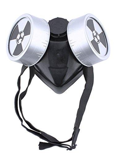 [Mtxc Tokyo Ghoul Cosplay Accessories Ken Kaneki Gas Mask Black] (Toy Gas Mask)