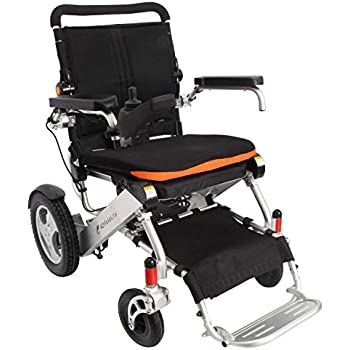 F KD FoldLite Safe Lithium Battery Electric Wheelchair, Foldable and Lightweight, 360° Joystick with LED Display Screen and USB Charging Port, ...
