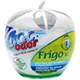 CROC'ODOR Désodorisant pour Frigo Taille XL 140 g - Lot de 2