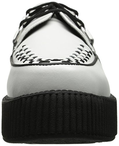TUK - Mondo Sole Round Creeper, Sneaker Unisex - Adulto Bianco (White)