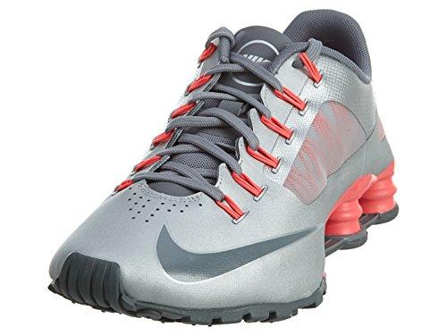 Nike Women's Shox Superfly R4 Metallic Silver/Cl Gry/Hypr Punch Running Shoe 6.5 Women US