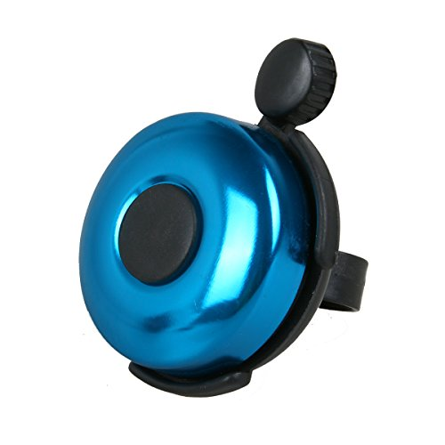 AD Bicycle Bell - Aluminum Bike Bell Ring - Classic Bicycle Bell for Adults Men Women Kids Girls Boys Bikes - Mountain Bike Accessories - Blue