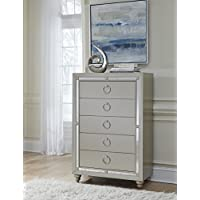 Global Furniture RILEY (1621) CHEST, Silver