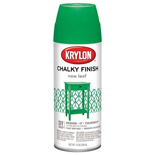 krylon-k04113000-chalky-finish-spray-paint-new-leaf-12-ounce