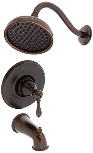 Pfister G89-8MBU G89-8MBU Marielle Single Handle Tub and Shower Combo Trim, Rustic Bronze - Marielle Single Handle Faucet