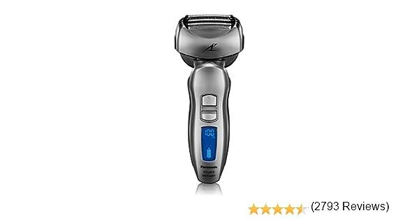 Panasonic ES-LA63-S - Afeitadora (battery/accu, Litio-Ion, 1 h, 100-240 V, 68 mm, 55 mm) Plata: Amazon.es: Salud y cuidado personal
