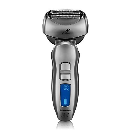 - Panasonic ES-LA63-S Arc4 Men's Electric Razor, 4-Blade Cordless with Wet/Dry Shaver Convenience