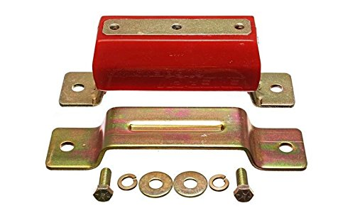 Energy Suspension99-04 Ford Mustang 4.6L V8 Red Transmission Mounts By Jm Auto Racing -