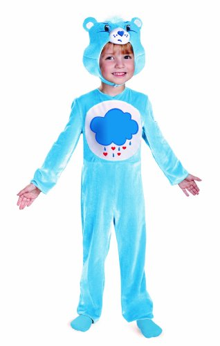Disguise Care Bears Grumpy Bear Classic Costume, Light Blue/White, 12-18 Months - Grumpy Bear Costume