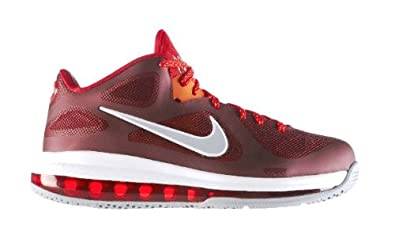 Lebron 9 Low (Team Red/Challenge Red-Wolf Grey)