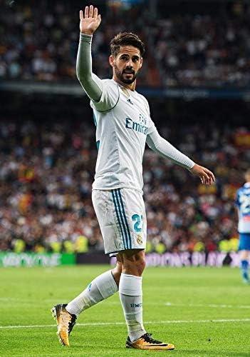 Desconocido ISCO Real Madrid España la Liga Fútbol Póster 10950 ...