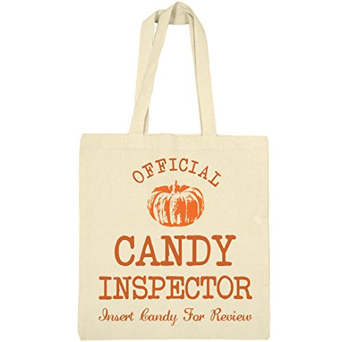 Funny Halloween Candy Inspector Bag: Liberty Bargain Tote (Parents Take Halloween Candy)