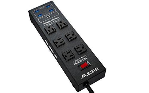 Alesis POWERTRIP USB | Professional-Grade Power Strip with Integrated USB 3.0 Hub