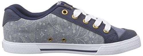 DC Shoes Chelsea Se J Shoe - Zapatillas Mujer Azul - Blau (ISB)