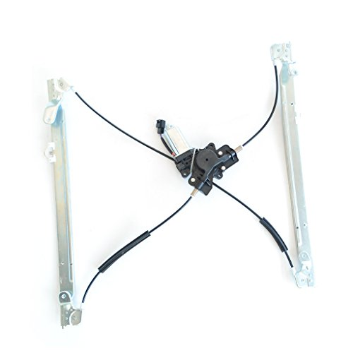SHOWSEN Front Passenger (Right) Side New Aftermarket Replacement Power Window Regulator with Motor Assembly For Chrysler Dodge Plymouth