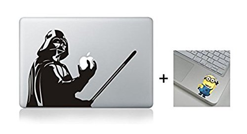 Darth Vader Cartoon Character Decal Sticker for Macbook Lapt