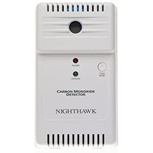 Kidde 900-0058-04 Nighthawk Carbon Monoxide Detector