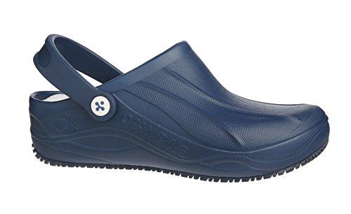 Bleu Femme Mules Marine pour Oxypas 7HqUwzFFgx