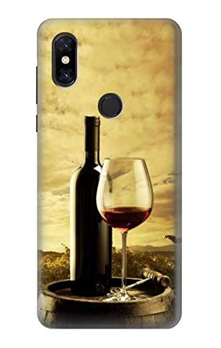 R2042 A Grape Vineyard Grapes Bottle and Glass of Red Wine Case Cover for Xiaomi Mi Mix - Vineyard Mix