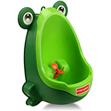 Foryee Cute Frog Potty Training Urinal for Boys with Funny Aiming Target -...