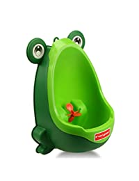 Foryee Cute Frog Potty Training Urinal for Boys with Funny Aiming Target - Blackish Green BOBEBE Online Baby Store From New York to Miami and Los Angeles