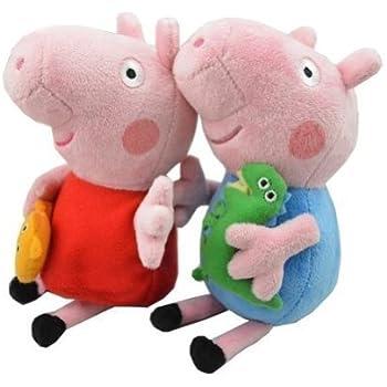 Amazoncom Ty Beanie Babies Peppa Pig Regular Plush Toys  Games