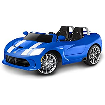 41C2Vdlg0mL._SL500_AC_SS350_ amazon com kid trax dodge viper srt 6v ride on toys & games kid trax fire truck wiring diagram at webbmarketing.co