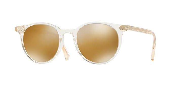 c69122802ea Amazon.com  Oliver Peoples - Delray Sun - 5314 48 - Sunglasses (BUFF ...