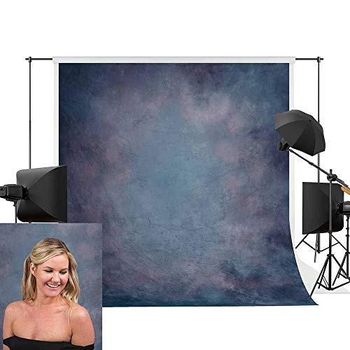 Allenjoy 5x7ft Polyester Digital Printed Old Master Backdrop Dramatic Stormy Dark Purple and Blue Grungy Modern Abstract Background for Portrait Photography or Decoration by Allenjoy