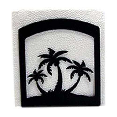 (Village Wrought Iron Home Decor Triple Palm Tree Napkin)