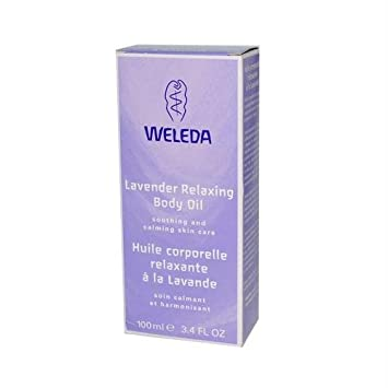 Weleda Lavender Relaxing Body Oil, 3.4 Ounce by Weleda