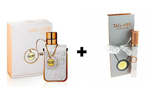 [Armaf Tag-Her Pour Femme for women + Tag-Her Pour Femme Pen Spray (3.4oz EDP] (Her Edp Spray)