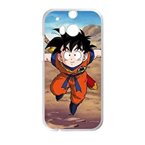 HTC One M8 Cell Phone Case White Dragon Ball Z Young Gohan SU741466