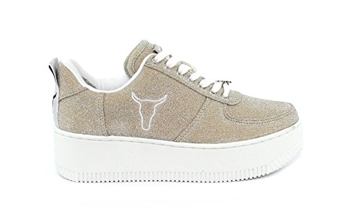 Racerr Lurex Windsor Sneaker Smith Nougat Donna r5wqzwAnX