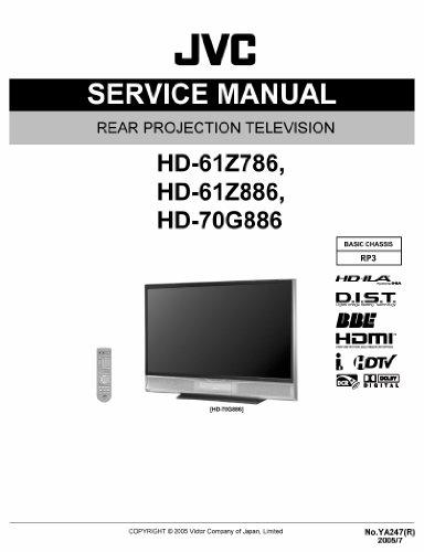 JVC HD-70G886 service manual