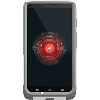 OtterBox Commuter Series Case for Motorola DROID MAXX - Retail Packaging - White/Gray