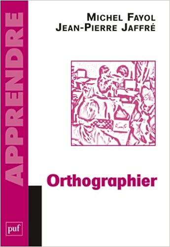 Livre gratuits en ligne Orthographier epub, pdf