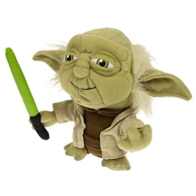Comic Images Super Deformed Yoda Plush Toy: Toys & Games