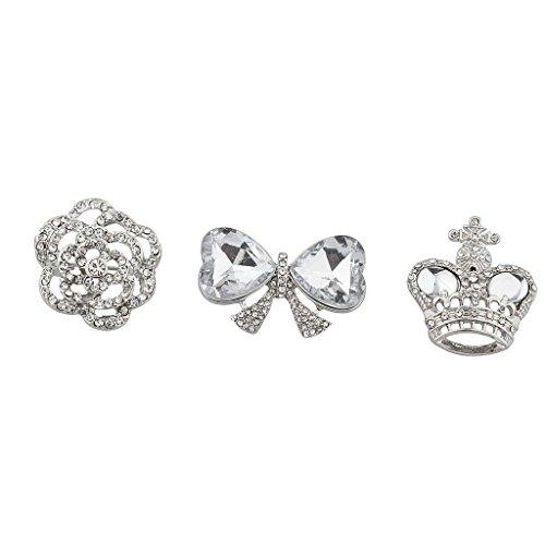Lux Accessories Silvertone
