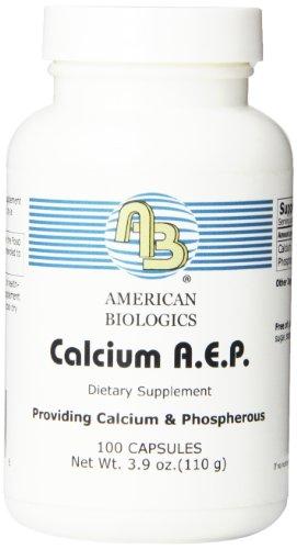 American Biologics Calcium Aep Capsules, 100 Count