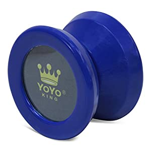 Yoyo King Blue Merlin Pro Yoyo with Ball Bearing Axle and Extra String