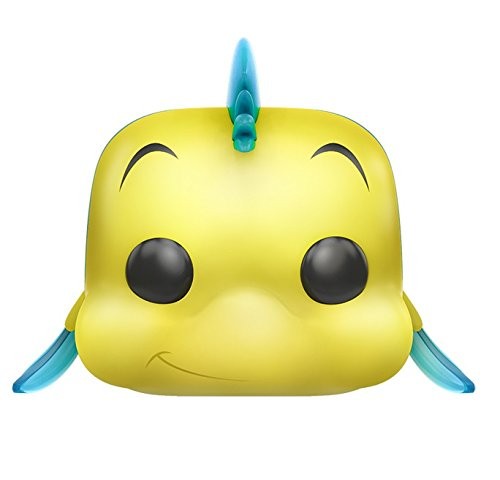 Funko Little Mermaid Flounder Pop Disney Figure