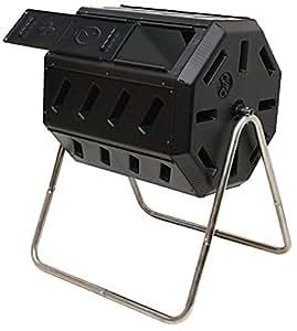 Amazon.com: Tambor para abono Yimby, color negro, Negro ...