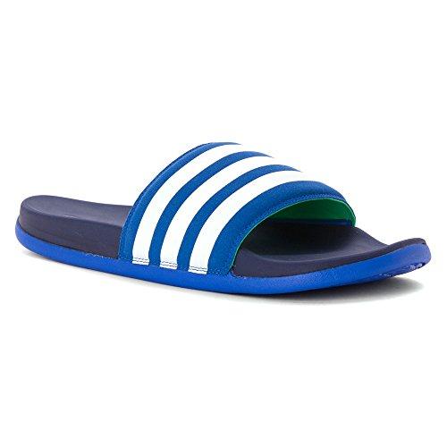 adidas Performance Herren Adilette Supercloud Plus Sandale BLAU, FTWWHT, MIDIND