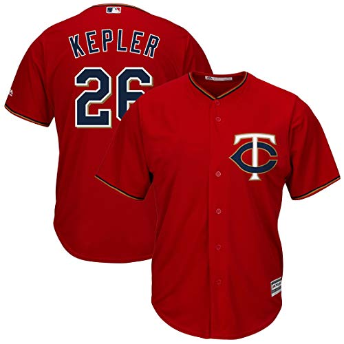 - Outerstuff Youth Kids 26 Max Kepler Minnesota Twins Baseball Jersey Burgundy Red Size 14-16 L