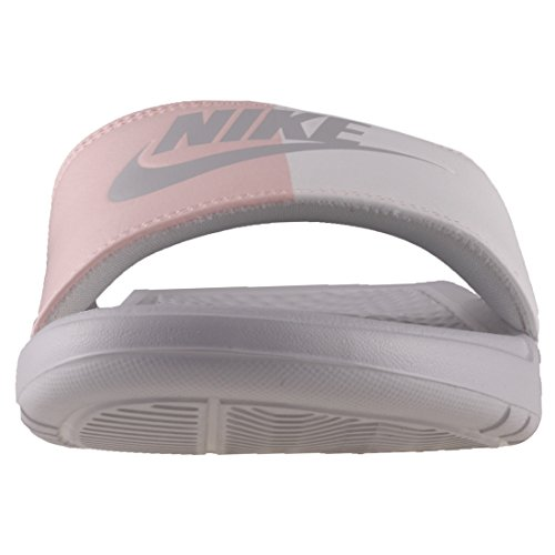 Nike Benassi JDI, Women's Open-Back Grey (Light Bone/Light Bone 005)